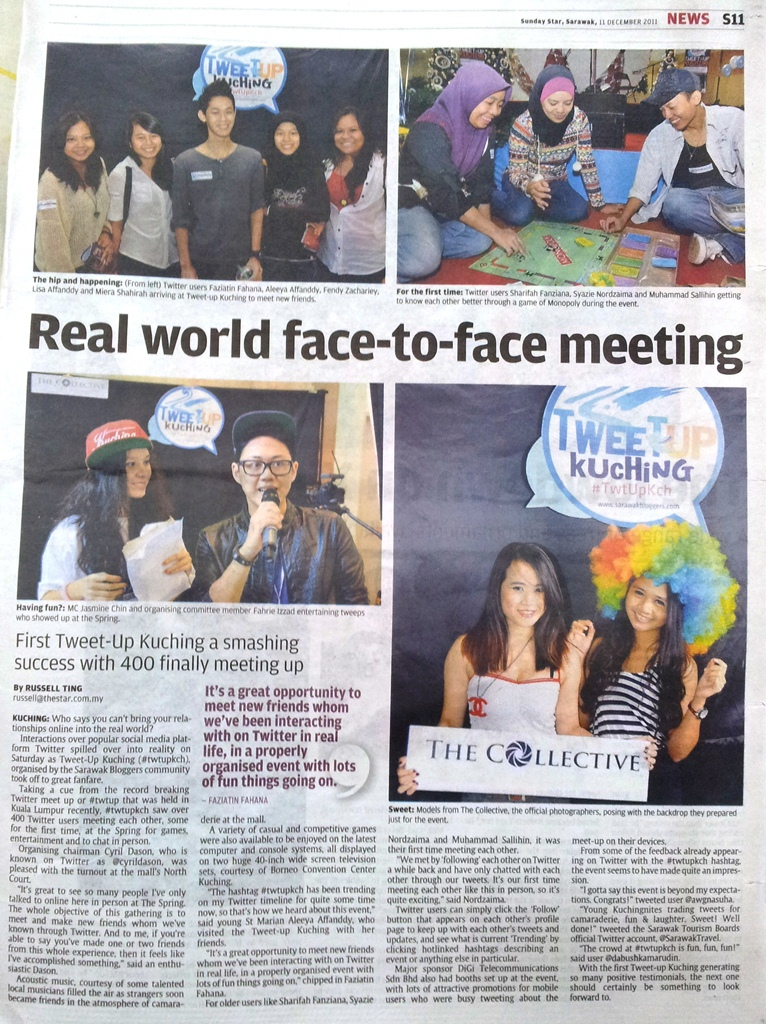Real World Face-to-Face meeting - The Star (smaller)